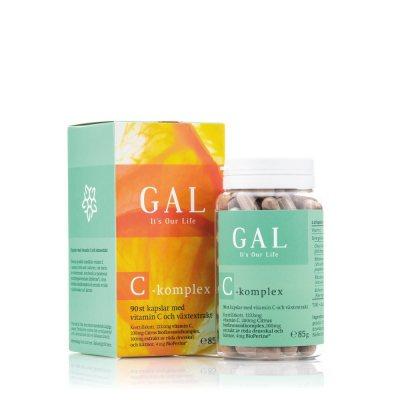 GAL Vitamin C-Komplex 90 Kapslar
