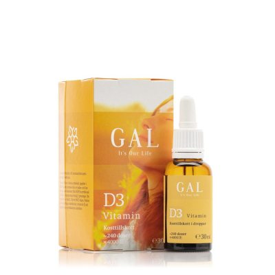 GAL Vitamin D3 Droppar (240 doser)