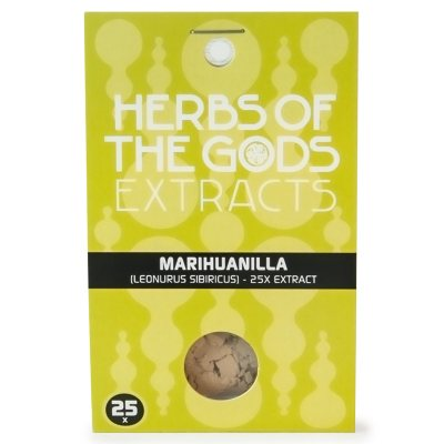 Herbs of the Gods  Marihuanilla 25X Extract