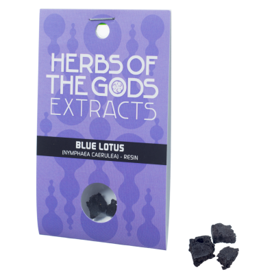 Herbs of the Gods Blue Lotus (Nymphaea Caerulea) Resin Extract 1g