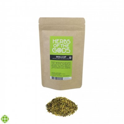 Herbs of the Gods Skullcap (Iscutelllaria Galericulata) 50g