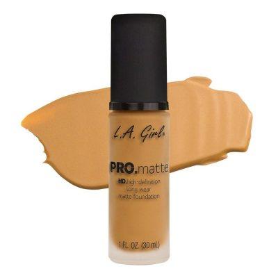 L.A. Girl Pro Matte Foundation Soft Honey 30ml