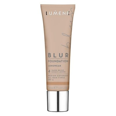 Lumene Longwear Blur Foundation 4 Warm Beige SPF15 30ml