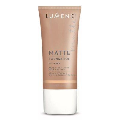Lumene Oil Free Matte Foundation 00 Ultra Light 30ml