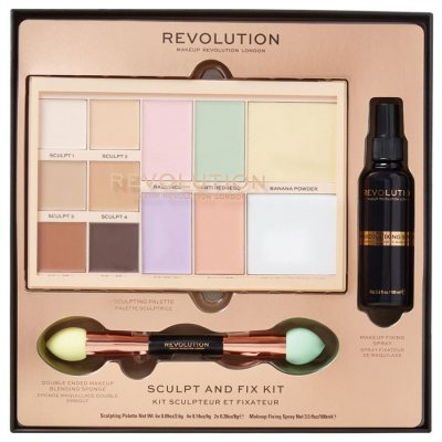 Makeup Revolution Sculpt & Fix Kit