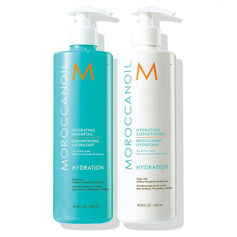 MoroccanOil Hydrating Schampoo + Conditioner 500ml
