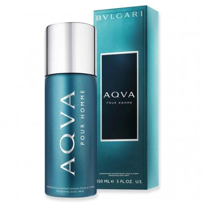 BVLGARI Aqva Pour Homme Deo Spray 150ml
