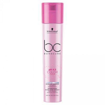 Schwarzkopf Bonacure pH4.5 Color Freeze Sulfate Free Silver Shampoo 250ml